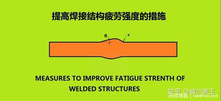 提高焊接结构疲劳强度的措施
